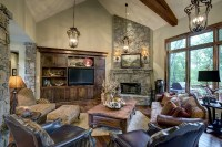 14 Harmonious Country Style Family Rooms - Home Plans ...