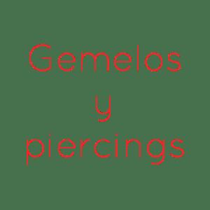 Gemelos y Piercings