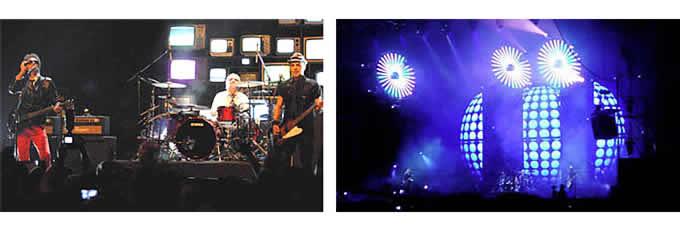 Soda Stereo. Conferencia de prensa y escenografía de la gira «Me verás volver».