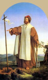 Saint Boniface established the Holy Cross in the place in which he demolished the pagan tree. It set a pine as invented in the Church Neo Kabbalist and promoted today in the Conciliar Rome. If the saint destroyed a tree druid, why would he planted another?