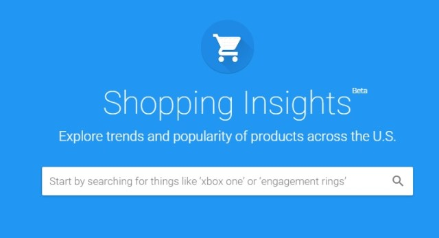 Shopping Insights, la herramienta de big data de Google