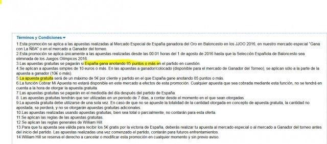 sentimiento patrio patriotismo williamhill cuota seleccion española condiciones 2 foronaranja
