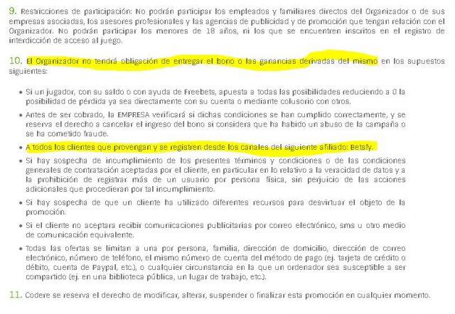 bono bienvenida codere codereapuestas 3 foronaranja