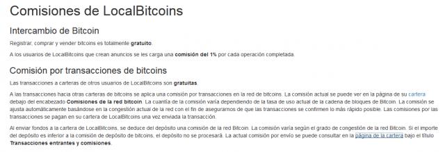 pagina de cambio de exchange bitcoin btc localbitcoin comision compra venta foronaranja