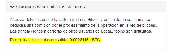 pagina de cambio de exchange bitcoin btc localbitcoin comision retiro foronaranja