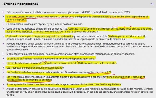 versus vivelasuerte casa apuestas bono bienvenida freebet foronaranja