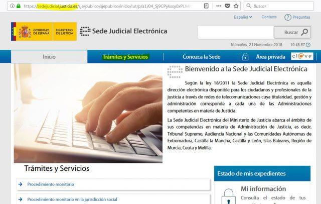 juicio verbal denuncia demanda sede judicial electronica gratis 2000 casa apuesta 1 foronaranja