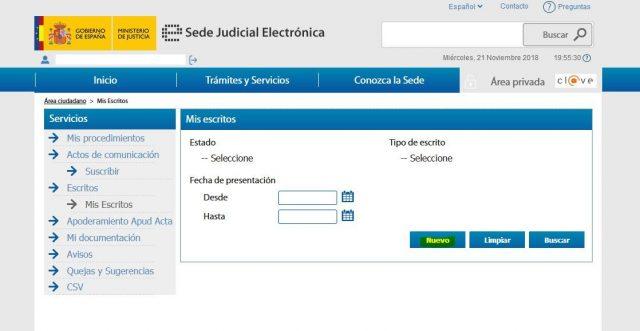 juicio verbal denuncia demanda sede judicial electronica gratis 2000 casa apuesta 8 foronaranja