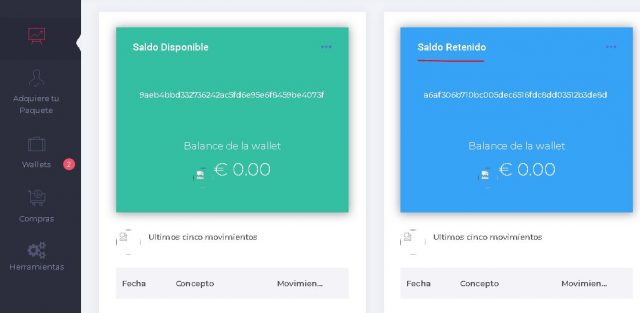 gananciasdeportivas.net estafa panel de usuario wallet foronaranja