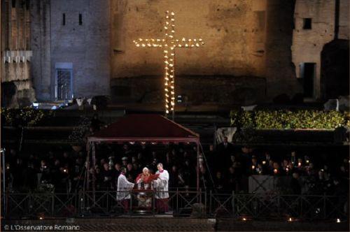 Via Crucis del Colieo Romano Semana Santa 2010