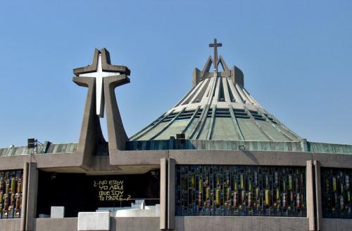Basilica de Guadalupe en Ciudad de Mexico