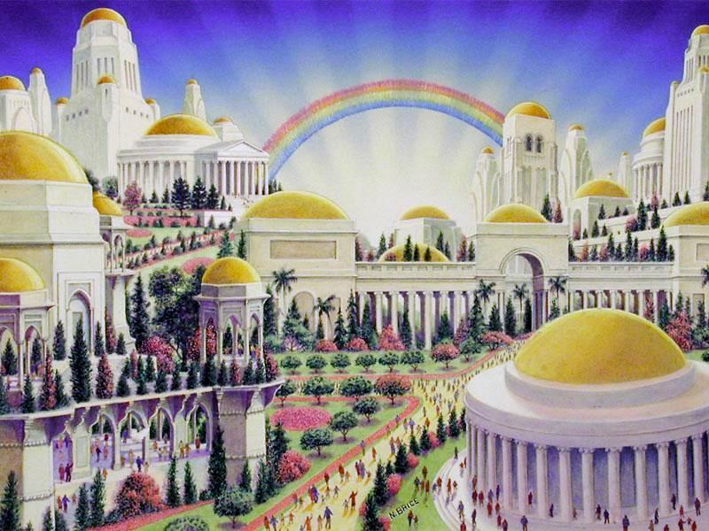 Qu Hace la Gente en el Cielo Slo Alaba a Dios