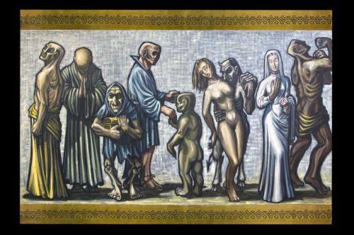pecados capitales y virtudes