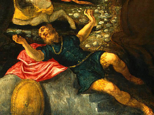 TINTORETTO CONVERSION OF PAUL