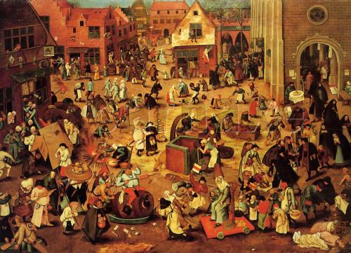 pieterbruegel combate de carnaval y cuaresma