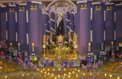 Devocin del Viernes de los Dolores de Mara anterior a