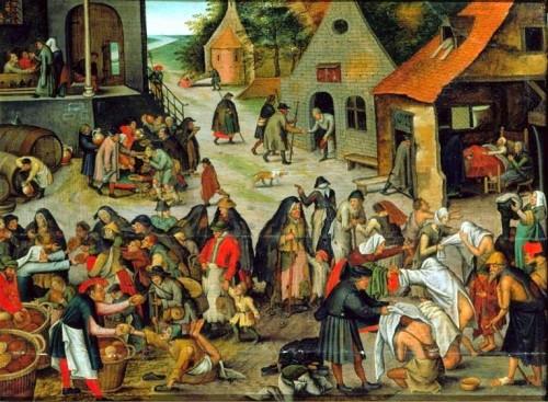 Pieter Brueghel Obras de Misericórdia