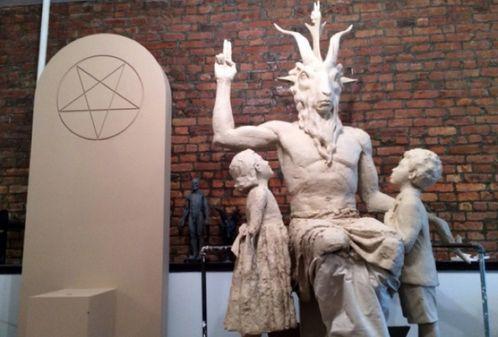 esatua satanica de oklahoma