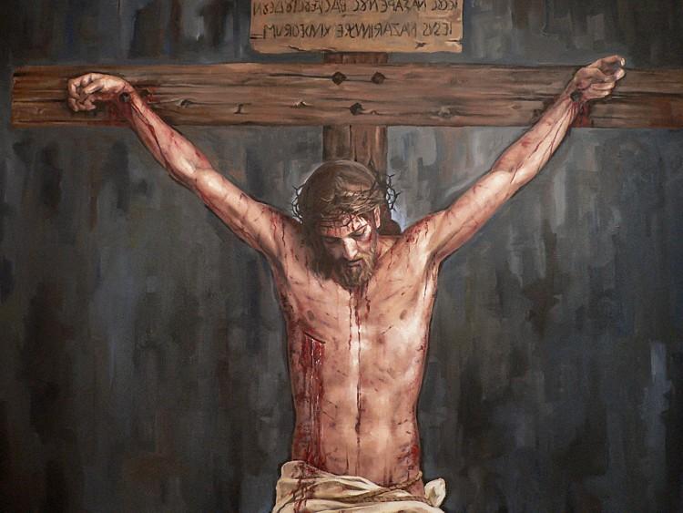 Resultado de imagen de JESUS CRUCIFICADO