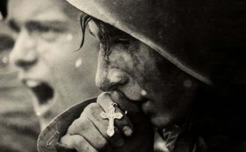 soldados y rosario