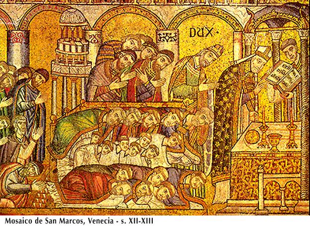 mosaico de liturgia