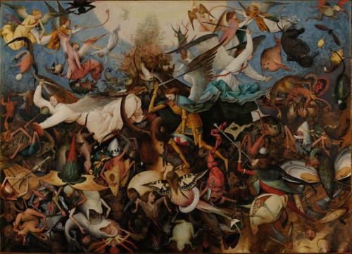 Pieter Bruegel la caida de los angeles rebeldes
