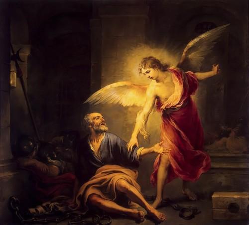San Pedro liberado por el ángel