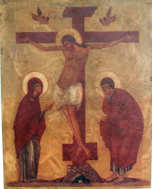 jesus maria en juan en la cruz