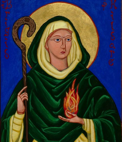 icono de santa brigida