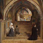 La Escalera Santa que Caminó Jesús el Viernes Santo