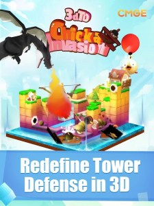 3D TD Chicka Invasion for PC