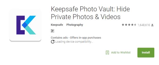 KeepSafe for windows