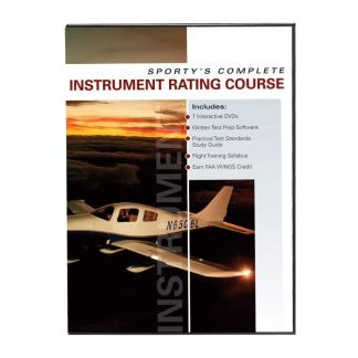 SPORTYS COMPLETE INSTRUMENT RATING COURSE - 7 DVD