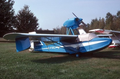VOLMER VJ-22 SPORTSMAN – PLANS AND INFORMATION SET FOR HOMEBUILD AMPHIBIOUS AIRCRAFT
