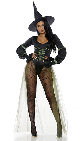 Diy Sexy Witch Costume : witch, costume, Westside, Wicked, Witch, Costume|Sexy, Costumes|2019, Costumes|Forplay