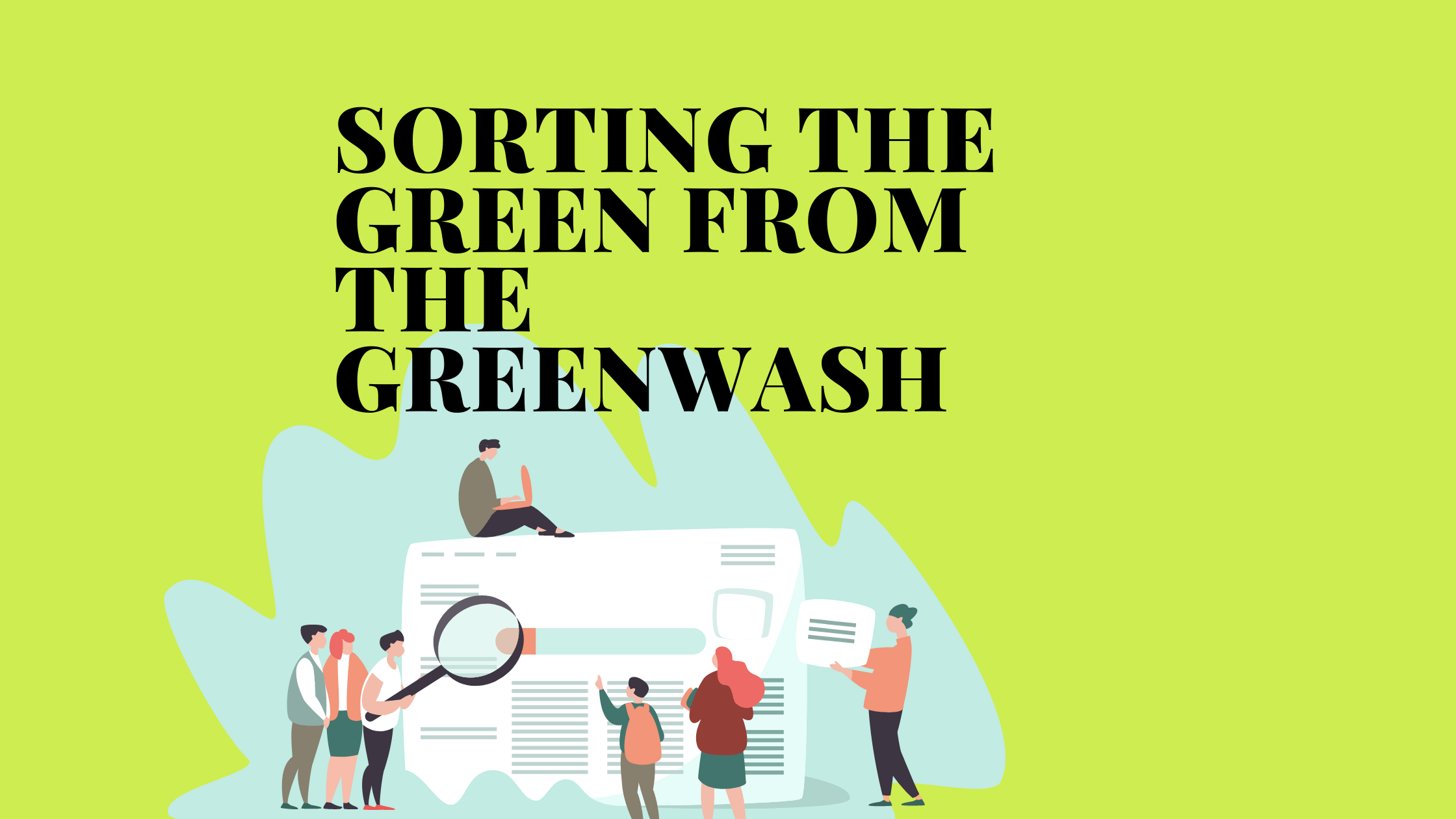 What is greenwashing blog by For Purpose Jobs
