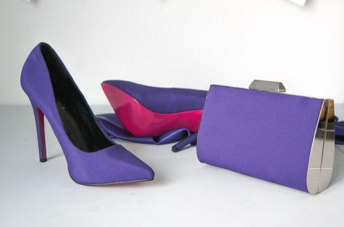 Forrado zapato y bolso
