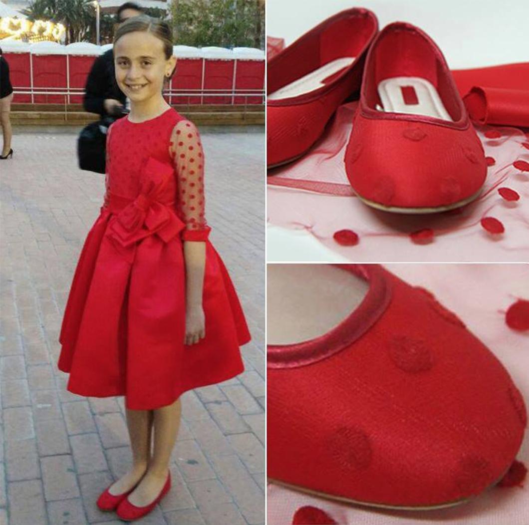 Forrado zapatos candidata infantil