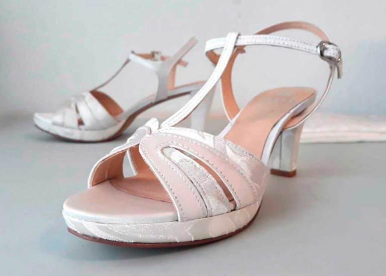 forrar zapato novia