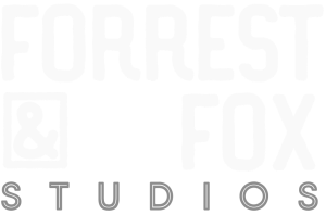 logo forrest and fox newborn photography