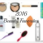 2016 Beauty Favorites