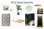 2016 Home Favorites