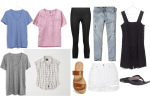 New Mom Capsule Wardrobe