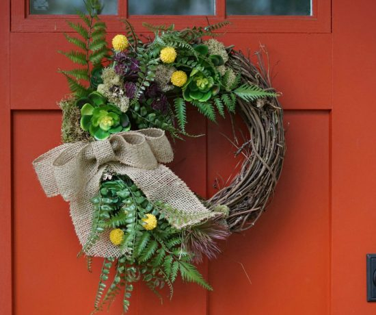 easy fall succulent wreath tutorial