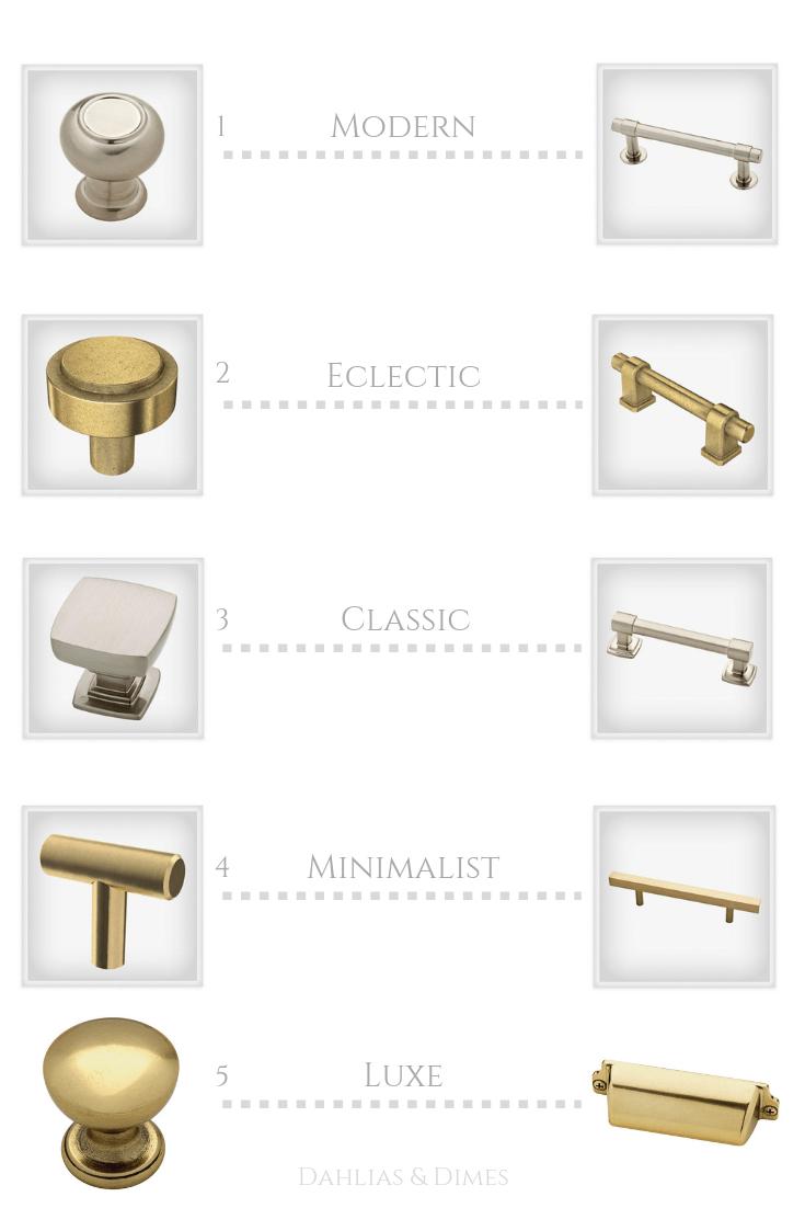 choosing cabinet hardware