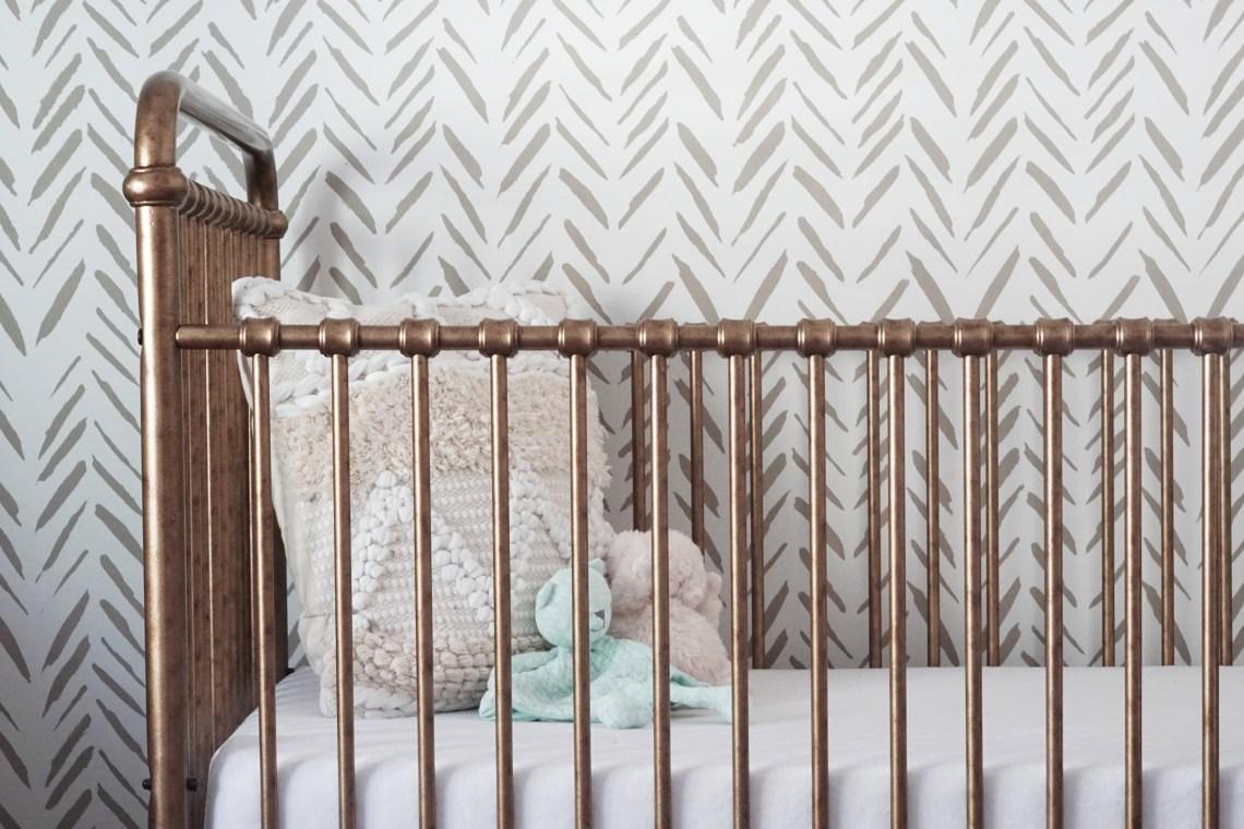 abigail iron crib
