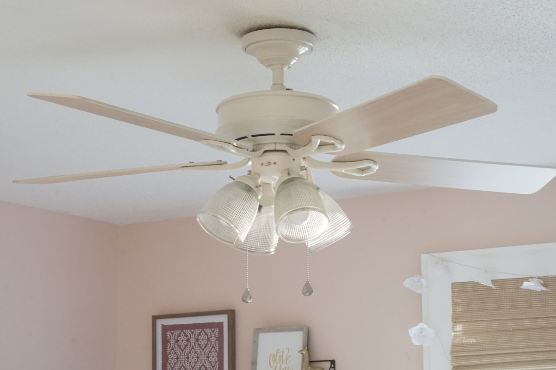 revamped ceiling fan