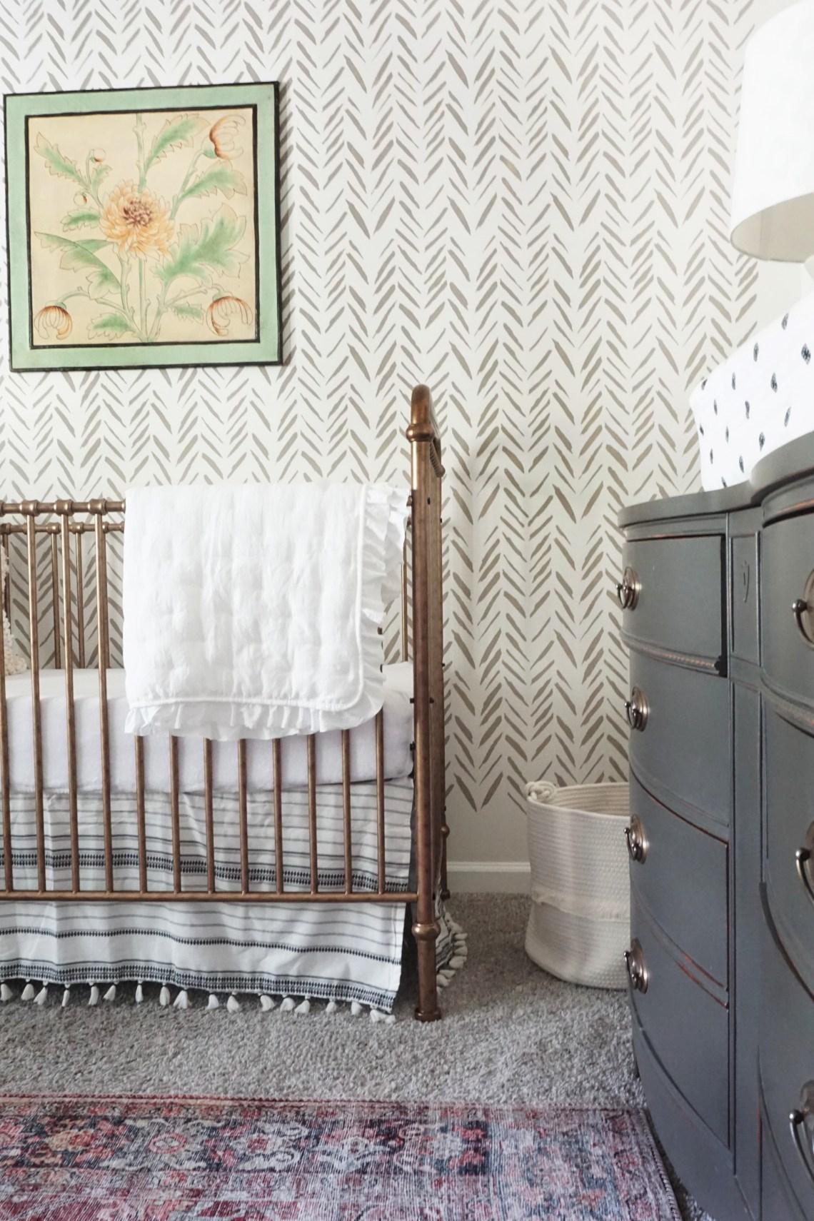 classy vintage nursery