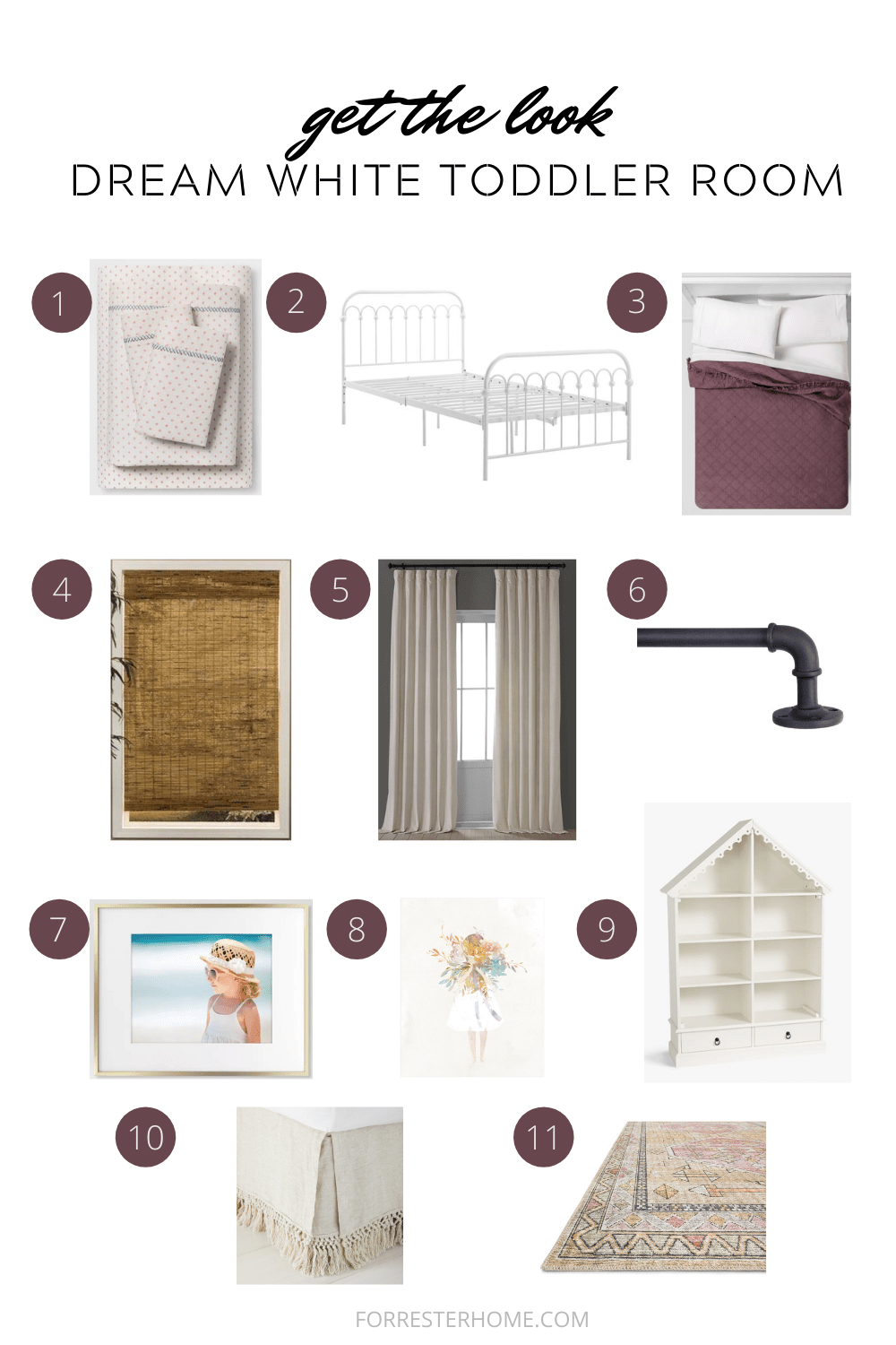 get the look toddler room