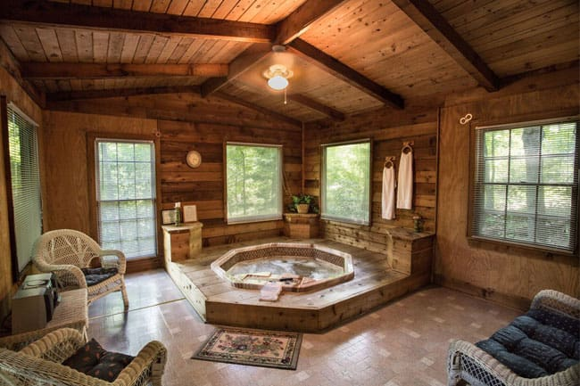 Cabins In Dahlonega  All with hot tub  fireplace at Forrest Hills Resort